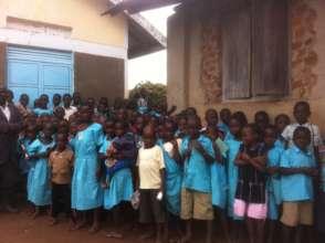 School children in Nambogo Village