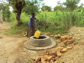 New home dug well providing clean water to 50 families