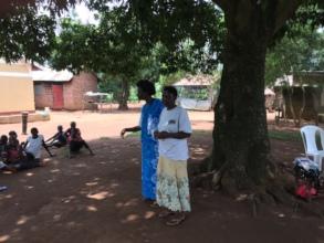 Leaders teaching HIVAIDS long term survivor skills