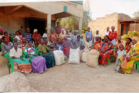 Bugiri Womens Group harvest to share and to sell