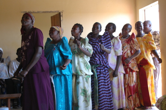 RARUDO women sing of hope, and sing to curb the spread of AIDS