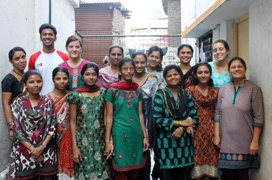 Staff with Bunty Pai, new Program Director