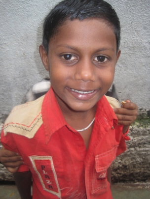 Arjun, a new student of the AIC Education Program