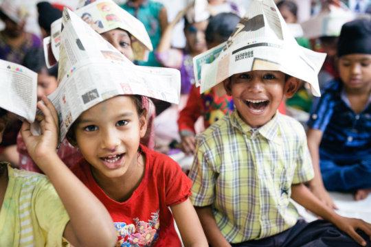 Paper hats!