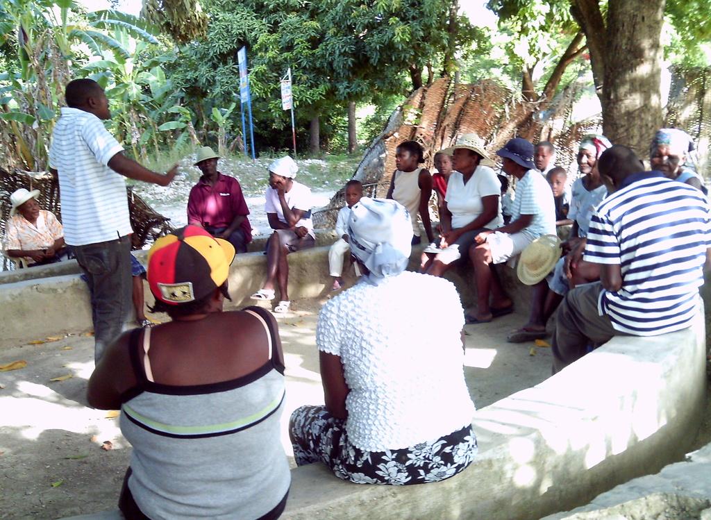 The Initial Planning Meeting of Bethel, Haiti