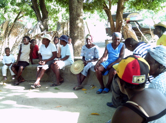 Initial Planning Meeting in Bethel, Haiti