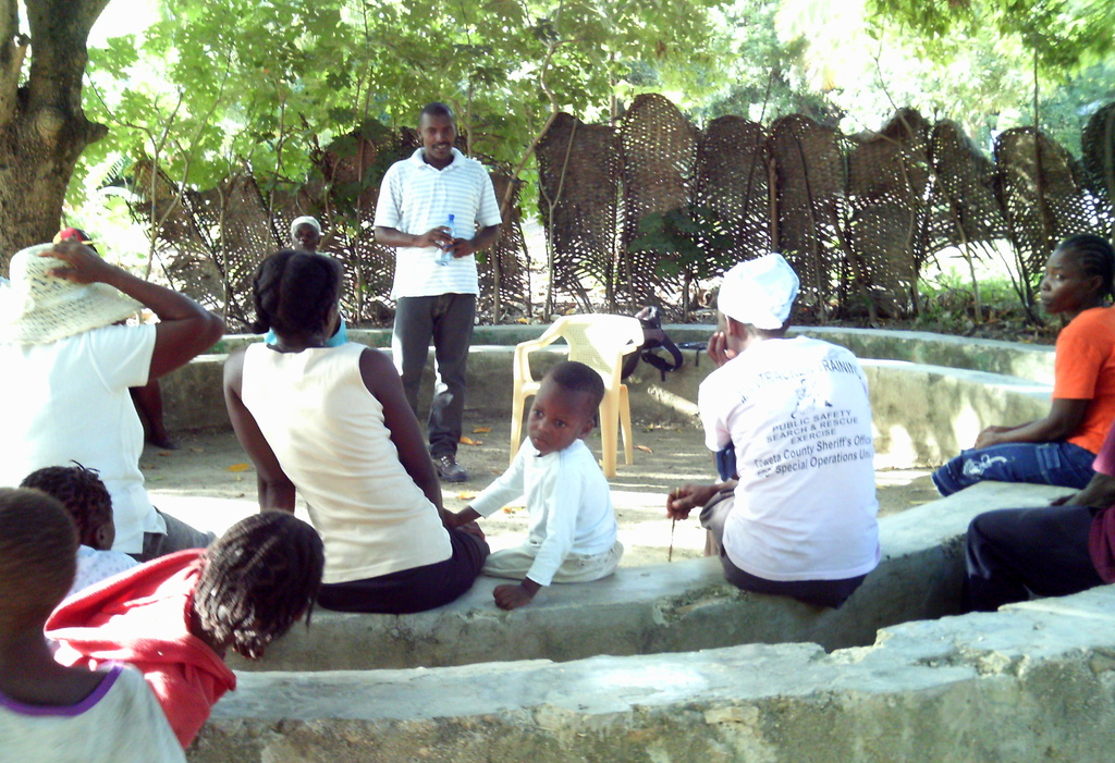 The youth representation in Bethel, Haiti