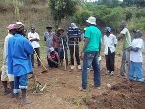 Onsite training in Haiti