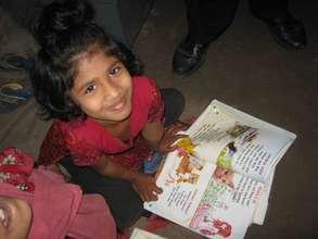 Precious preschooler from the Rangpur Center