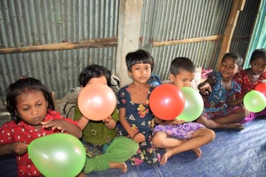 Chittagong preschool party