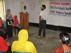 Training by Mr. Shahin Ur Rahman