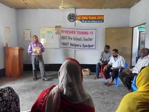 Training by Mr. Sohail Khan