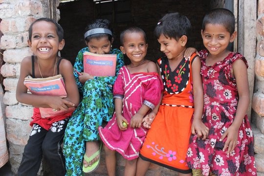 Educate 425 impoverished camp kids in Bangladesh