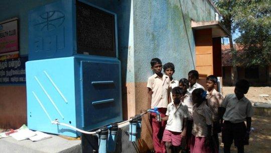 Toilets & Water for school children, rural India