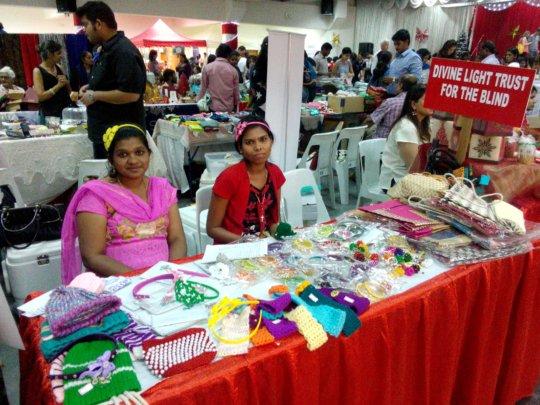 Participation in Christmas Bazar