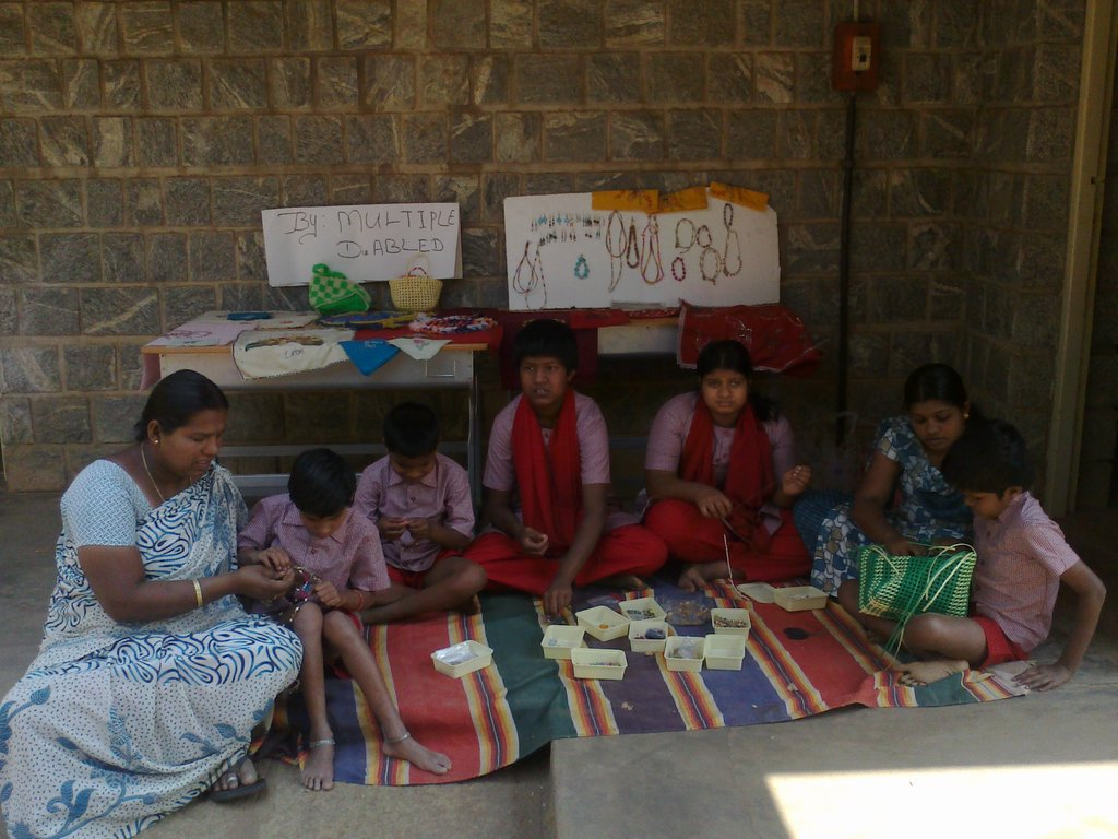 Support 50 Multiple Disabled Children in India