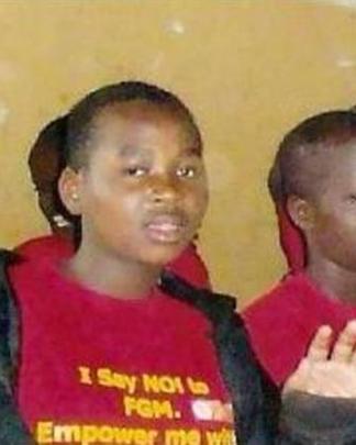 A PARTICIPANT AT AN ANTI FGM SEMINAR