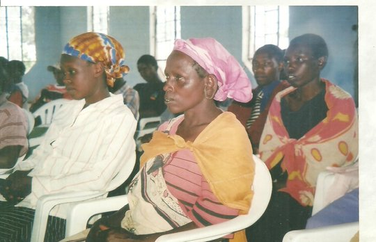 WOMEN PARTICIPATE AT AN ANTI FGM SEMINAR FOR WOMEN