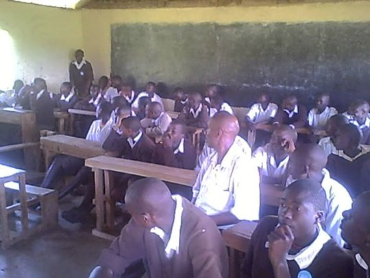 sensitisation of pupils on FGM