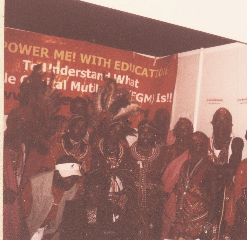 The Masai in support of the anti-FGM campaigns