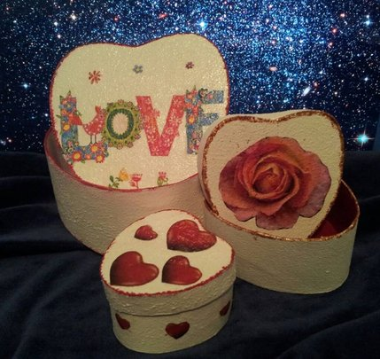 jewlery boxes made by children
