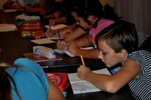 Afterschool program in Zenica orphanage