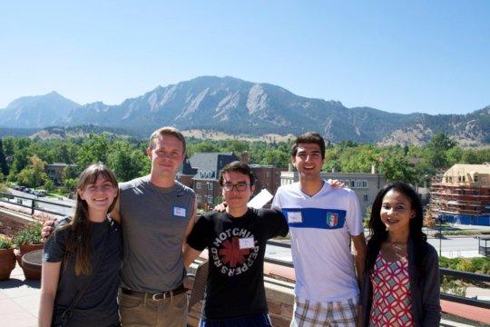 GlobeMedders in Boulder for staff retreat!