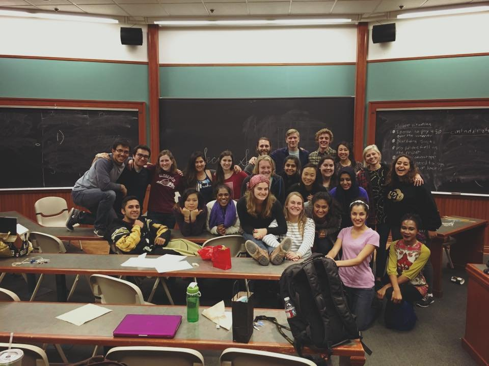 GlobeMedders on the last meeting of the year!