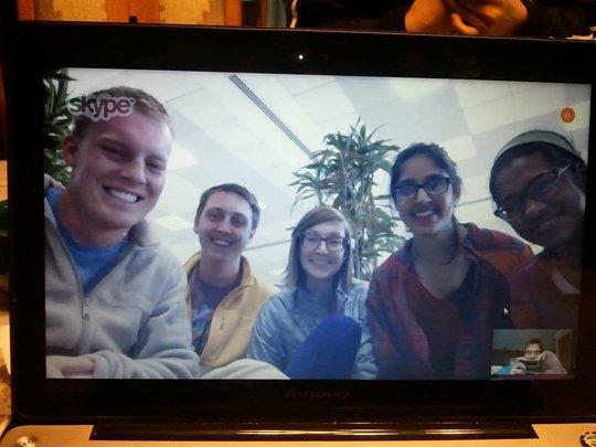 Skype with G.R.O.W. interns in Nepal
