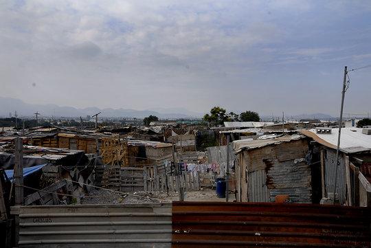 Community Center Poverty Surroundings