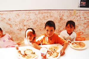 Children in a Community Center