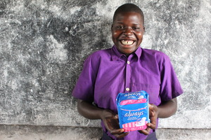 Apiyo Gloria: Sanitary Pad Beneficiary