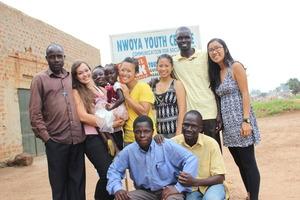 GlobeMed at UCLA and Nwoya Youth Center Staff
