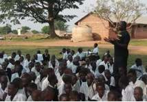 Gok and Anaka School pupils receiving SRH dialogue