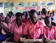 Pupils of Patira P7 School