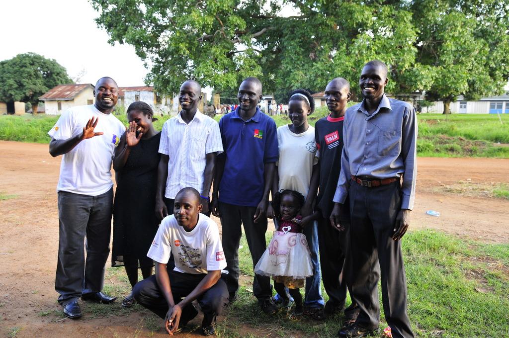 Nwoya Youth Center Staff