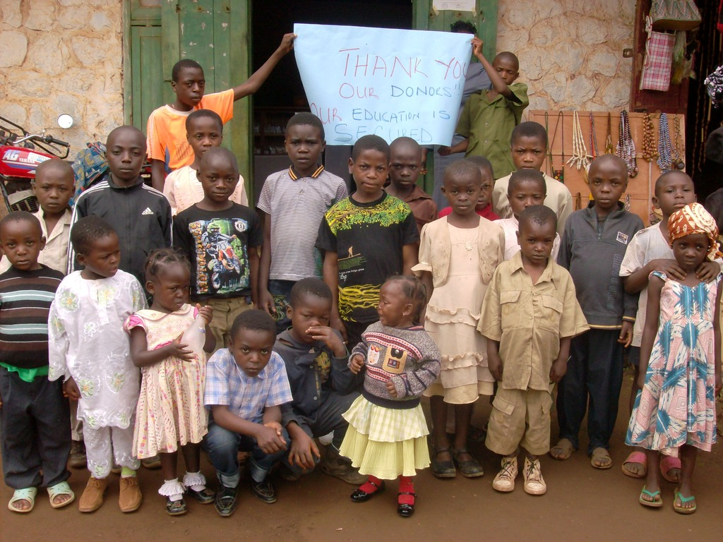Thank you from our Primary School orphans!