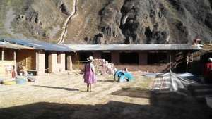 The new classrooms at the back