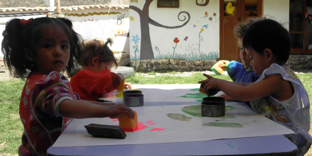the littlest ones painting