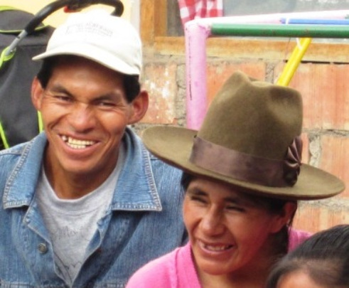 Carlota and Gabriel, Gabi`s parents enjoying