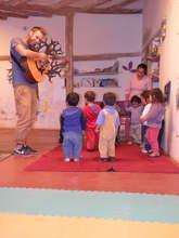 Music classes in the kindergarten!
