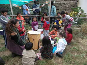 """Singing for the """" Pachamama"""" ( Mother Earth )"""