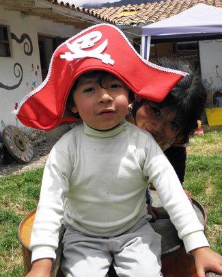 Educate a child, Empower a mother in rural Peru