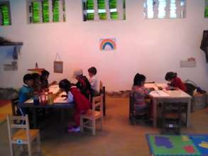 the Rainbow classroom