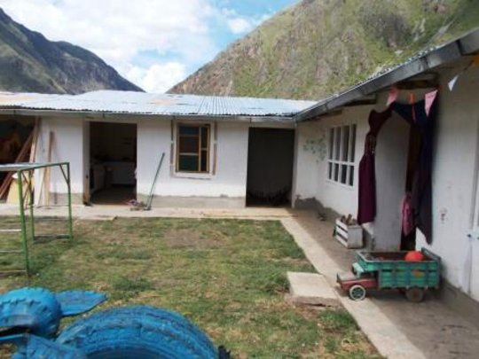 other classroom and kitchen without doors