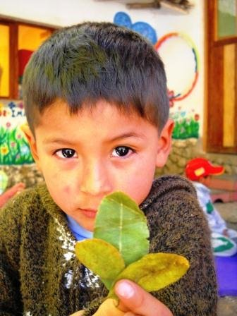 we celebrate the Pachamama (Mother Earth)