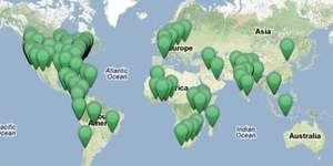 WJF World Project Map