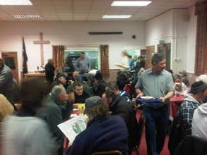 Food and Fellowship for the Homeless in London