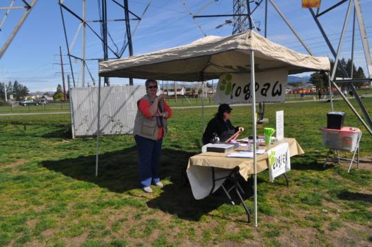 Membership Table at Dakota Dog Park
