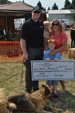 K9 Officer Dash and his Family